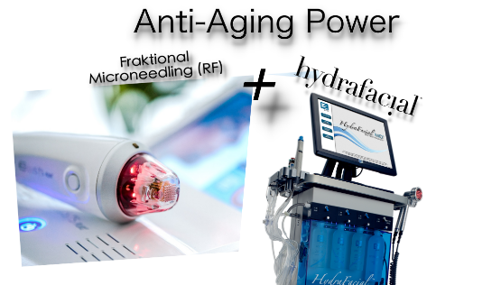 Anti-Aging Power HydraFacial + Fraktionales RF Microneedling. body and face perfection Reutlingen